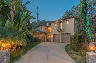 Del Mar Single Family Home For Sale: 3414 Caminito Santa Fe Downs
