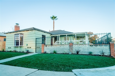 San Diego Single Family Home For Sale: 4605 49th St