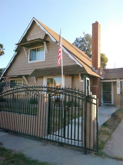 San Diego Single Family Home For Sale: 303 69th St.