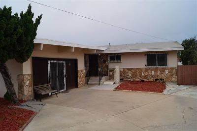 San Diego Single Family Home For Sale: 1106 57th St