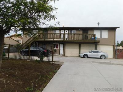 Escondido CA Multi Family 2-4 For Sale: $659,000