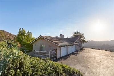 Valley Center Single Family Home For Sale: 13391 Anthony Ridge Rd