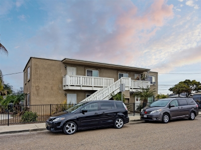 San Diego Multi Family 2-4 For Sale: 101 E 21st St