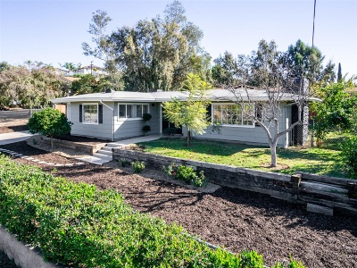 Escondido Single Family Home For Sale: 1310 Rees Rd