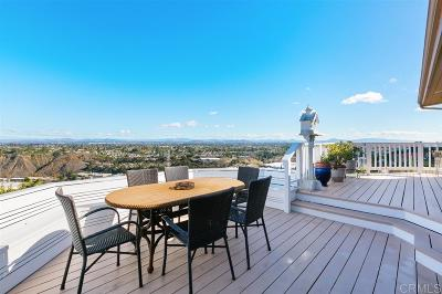 La Jolla Single Family Home For Sale: 5735 Soledad Mountain Road