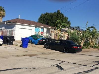 San Diego CA Single Family Home For Sale: $325,000