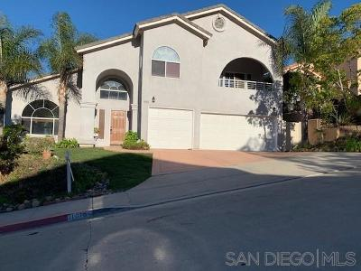 Single Family Home For Sale: 11016 Ipai Ct