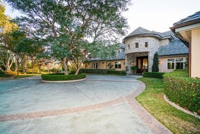 Rancho Santa Fe Rental For Rent: 7508 Vista Rancho Court