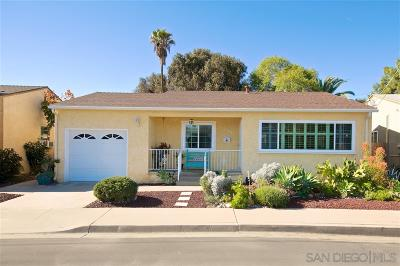 San Diego CA Single Family Home For Sale: $479,500