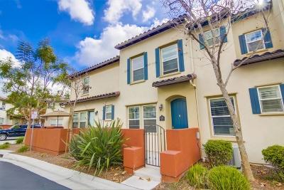 Chula Vista Townhouse For Sale: 2185 Diamondback Ct #37