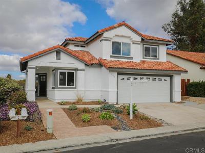 Vista CA Single Family Home For Sale: $569,900