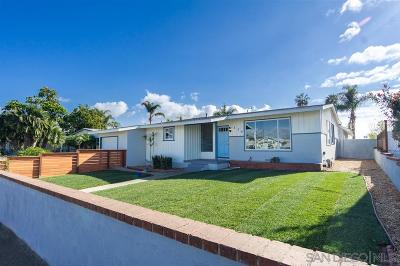 San Diego County Single Family Home For Sale: 379 Citrus Ave