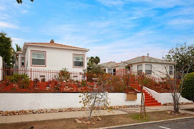 San Diego Multi Family 5+ For Sale: 3711-3721 35th St