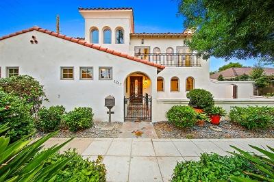 Coronado Single Family Home For Sale: 1217 8th Street