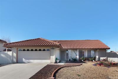 Riverside County Single Family Home For Sale: 29815 Desert Hills Rd