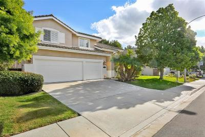 Carlsbad Single Family Home For Sale: 3335 Avenida Nieve