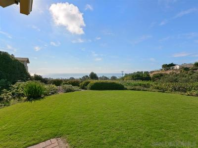 La Jolla Single Family Home For Sale: 1073 Skylark Drive