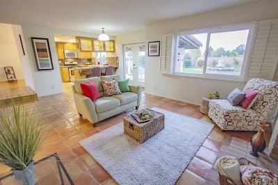 Rancho Del Rey Single Family Home For Sale: 1009 Paseo La Cresta