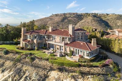 Rancho Santa Fe Single Family Home For Sale: 8165 La Milla