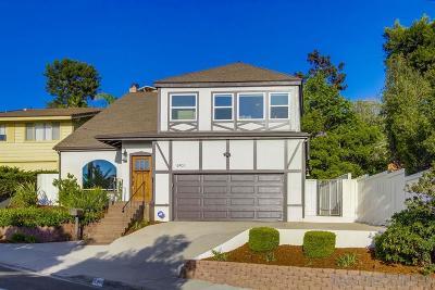 La Jolla Single Family Home For Sale: 5401 La Jolla Mesa Dr