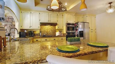 Bonita Single Family Home For Sale: 3836 Corral Canyon Rd