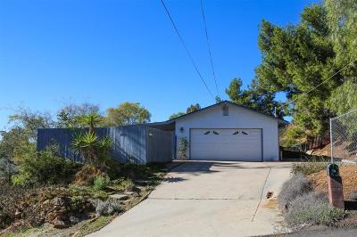 La Mesa Single Family Home For Sale: 3810 Costa Bella Drive