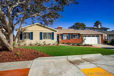 San Diego CA Single Family Home For Sale: $860,000