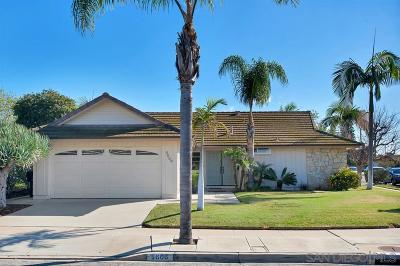 Clairemont, Clairemont East, Clairemont Mesa, Clairemont Mesa East Single Family Home For Sale: 5606 Birkdale Way