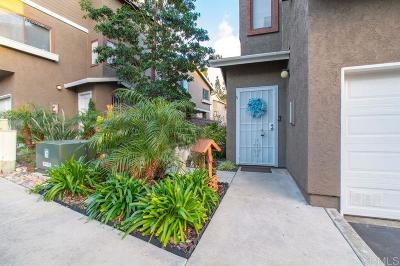 Chula Vista Townhouse For Sale: 584 Portsmouth Dr #A