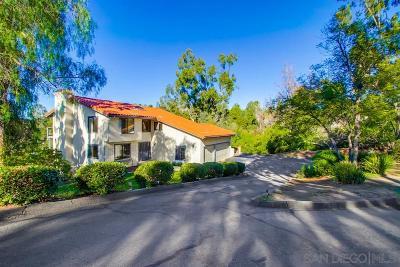 Escondido Single Family Home Sold: 10374 Eagle Lake Dr.