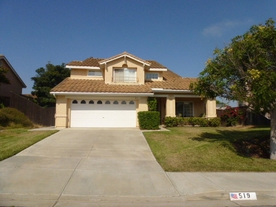 Oceanside Single Family Home For Sale: 519 Shadow Tree D.