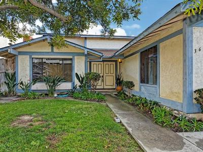 Oceanside Single Family Home For Sale: 3652 Azure Lado