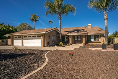Poway Single Family Home For Sale: 16534 Corte Paulina