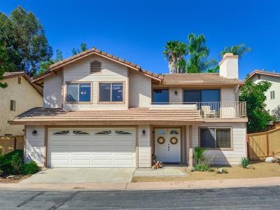 Escondido Single Family Home Sold: 2052 Fiesta Glen