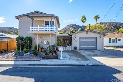 Santee Single Family Home For Sale: 8067 Linen