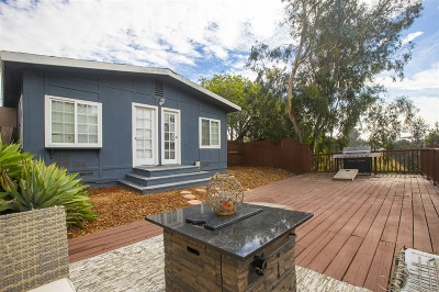 North Park, North Park - San Diego, North Park Bordering South Park, North Park, Kenningston, North Park/City Heights Single Family Home For Sale: 2748 30th St