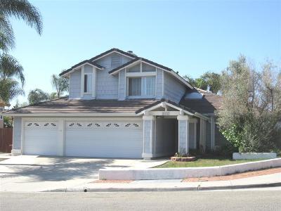 Oceanside Single Family Home For Sale: 924 Sagewood Dr.