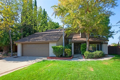 Tierrasanta Single Family Home For Sale: 4522 Terraza Ct