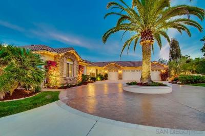 Single Family Home For Sale: 14002 Lake Poway Road