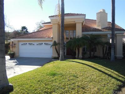 Escondido Single Family Home For Sale: 1329 Westminster Place