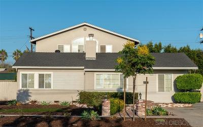 Chula Vista Single Family Home For Sale: 681 Hilltop Dr.