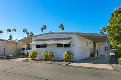 San Marcos Mobile/Manufactured For Sale: 1219 E Barham Drive #121