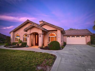 Fallbrook Single Family Home For Sale: 255 Patton Oak Road