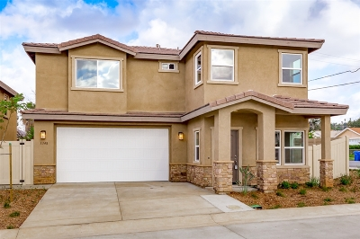 el cajon Single Family Home For Sale: 1343 Bailey Way