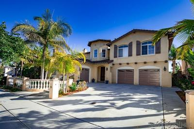 Chula Vista Single Family Home For Sale: 996 Red Granite Rd