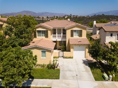 Chula Vista Single Family Home For Sale: 1593 Picket Fence Drive