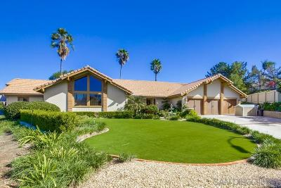 Poway Single Family Home For Sale: 16529 Calle Ana