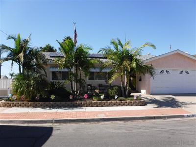 San Diego CA Single Family Home For Sale: $619,000