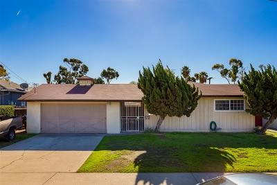 Chula Vista Single Family Home For Sale: 114 Sierra Way