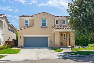 Chula Vista Single Family Home For Sale: 2278 Trellis